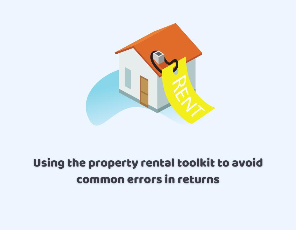 hmrc property rental toolkit