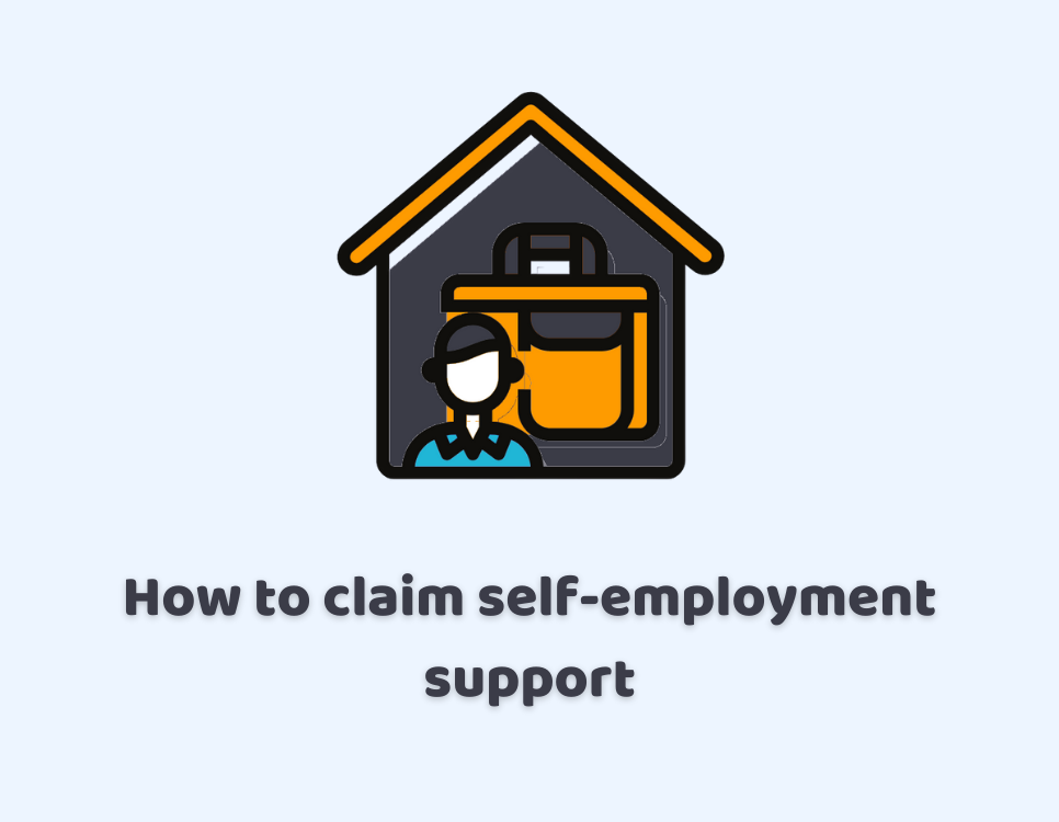 How to claim self-employment support