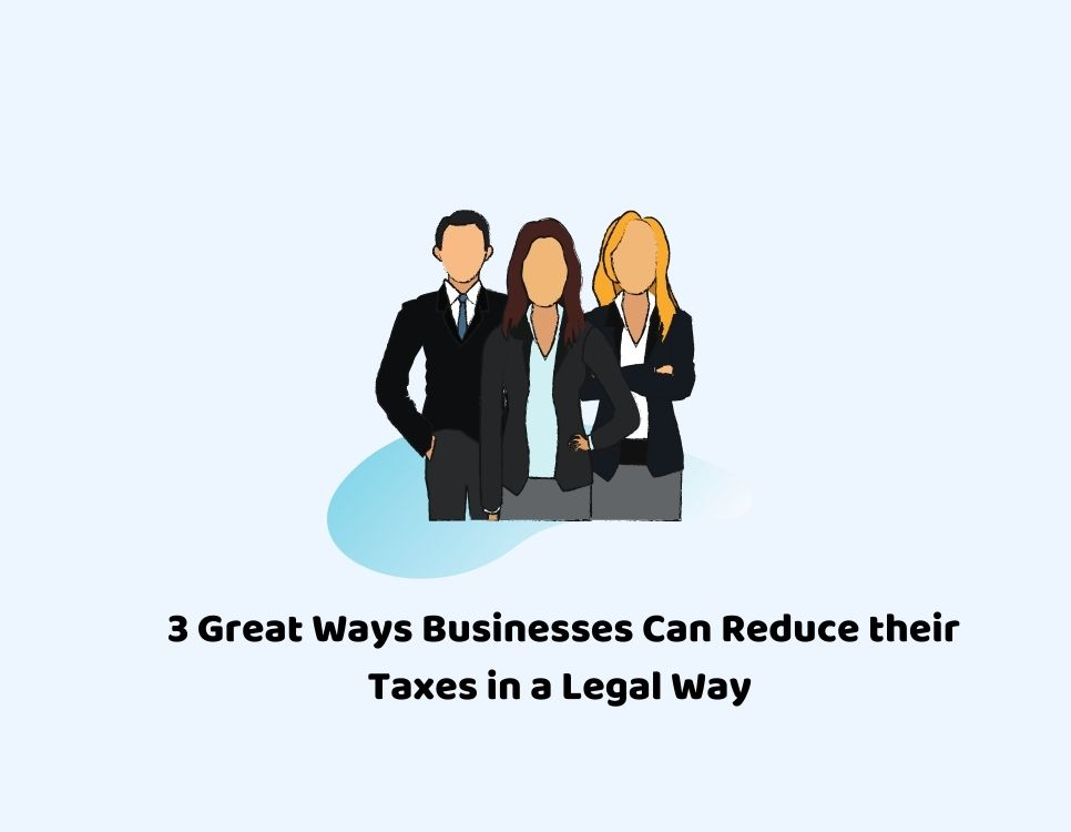 Reduce tax in a legal way