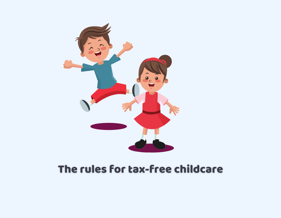 rules for tax-free childcare