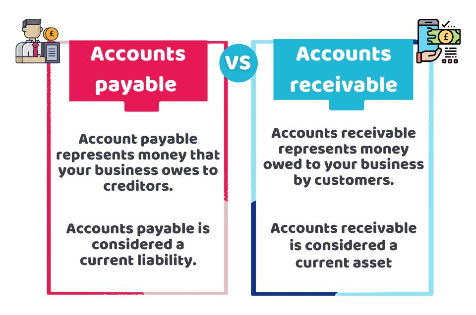Accounts payable vs account receivable